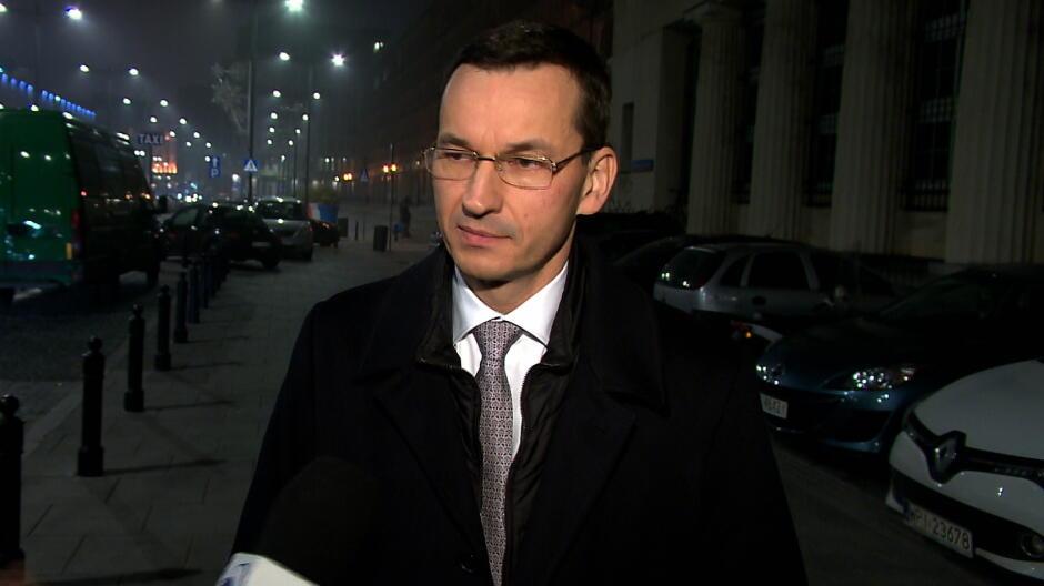 Morawiecki: obietnica 500 zł na dziecko na pewno będzie wypełniona