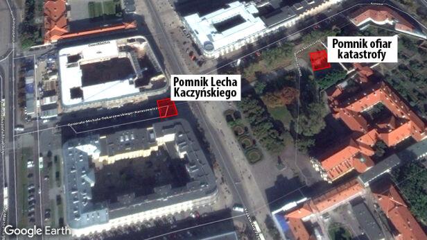 Proponowane lokalizacje pomników graf. tvn24.pl