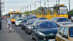 Ciężki wtorek na drogach. Tym razem wypadek na moście Poniatowskiego