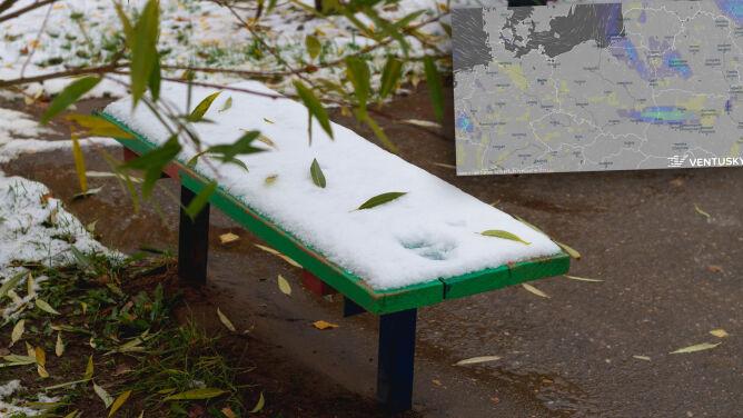 Pogoda na 5 dni: listopad pożegnamy opadami śniegu