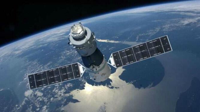 Chińska stacja kosmiczna spada. <br />Jej części dolecą do Ziemi