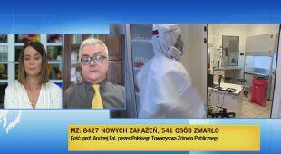 Ekspert o sytuacji epidemiologicznej w Polsce